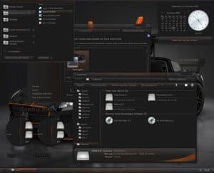 Tema Windows 7 Dark Agility Tampilan 3